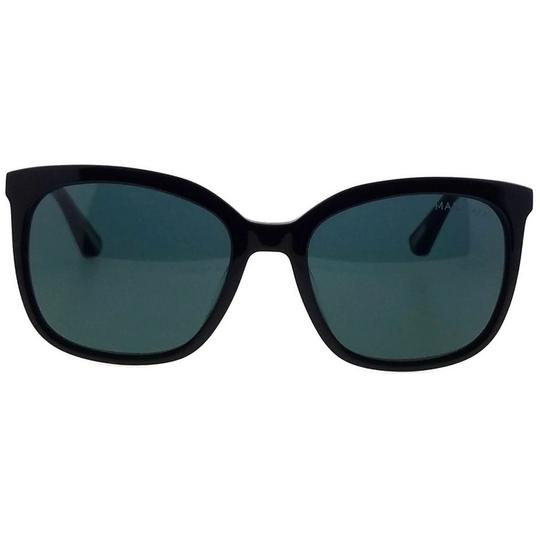 Guess By Marciano GM0756-01A-54 Square Women's Black Frame Grey Lens Sunglasses NWT