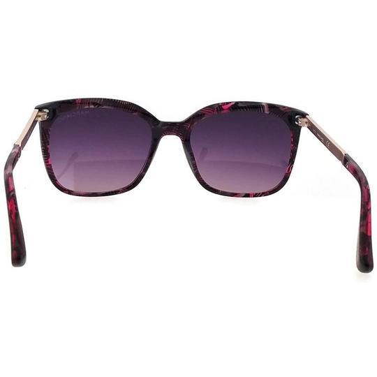 Guess By Marciano GM0756-81Z-54 Square Women's Purple Frame Purple Lens Sunglasses NWT