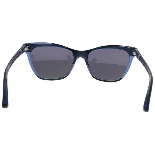 Guess By Marciano GM0758-92X-56 Square Women's Blue Frame Blue Lens Sunglasses NWT