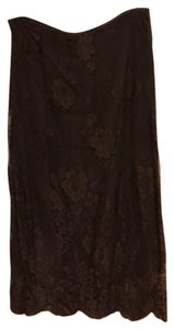 Ralph Lauren Collection Skirt brown with brown lace