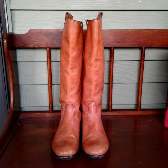 Madewell light brown color leather Boots