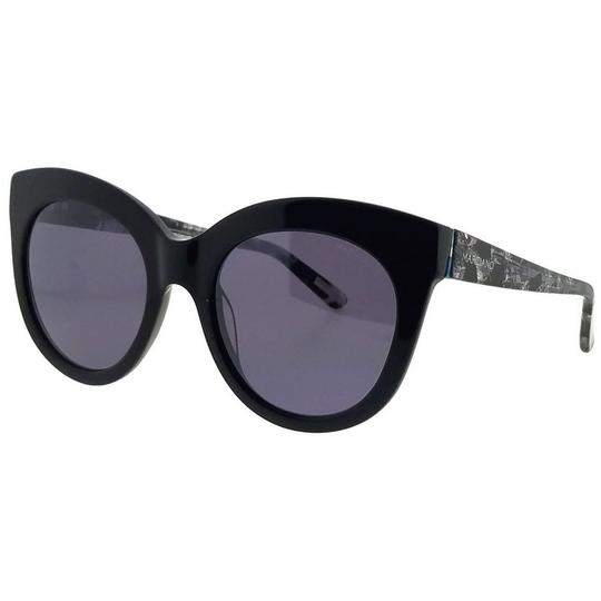 Guess By Marciano GM0760-01C-54 Oval Women's Black Frame Purple Lens Sunglasses NWT