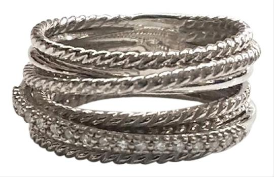 Preload https://img-static.tradesy.com/item/24547032/david-yurman-crossover-wide-cable-pave-diamond-sterling-silver-018-carat-total-weight-pave-diamonds-0-1-540-540.jpg