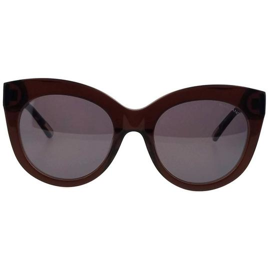 Guess By Marciano GM0760-45G-54 Oval Women's Brown Frame Purple Lens Sunglasses NWT