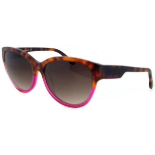Diesel DL0013-77F-57 Cat Eye Womens Multi Frame Brown Lens Genuine Sunglasses