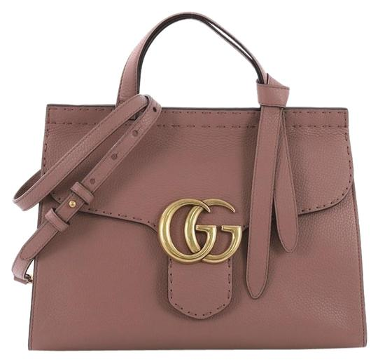 Preload https://img-static.tradesy.com/item/24547094/gucci-marmont-gg-top-handle-small-pink-leather-shoulder-bag-0-1-540-540.jpg