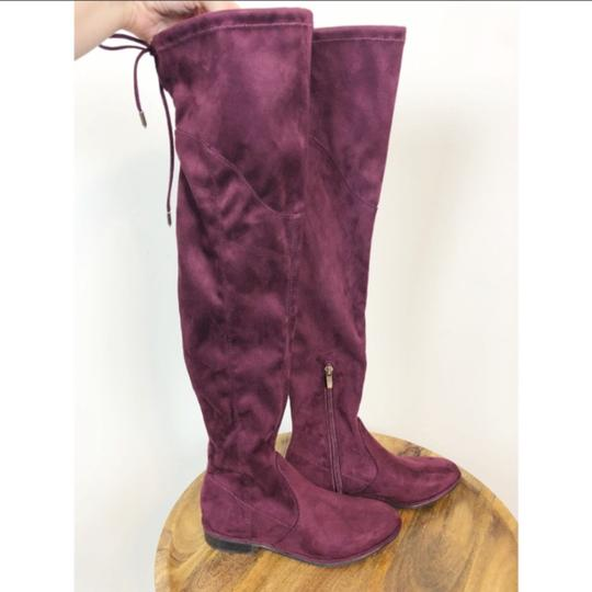 Marc Fisher red Boots Image 1