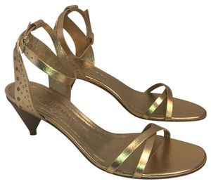 Burberry gold Sandals