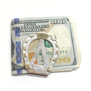 Hayward GORGEOUS!! Hayward 10 Karat Yellow Gold and Sterling Silver Money Clip 10 Karat Yellow Gold Sterling Silver 25.9 grams 100% Authentic Guaranteed!!