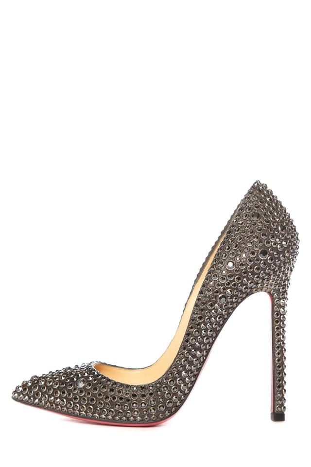 the best attitude 10670 bbbe7 Crystal Black Pointy Pumps