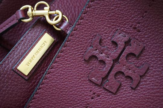 Tory Burch Tote in Imperial Garnet / Port Image 10