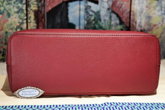Tory Burch Tote in Imperial Garnet / Port Image 9