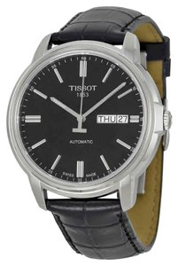 Tissot Automatic III Date Dial Men's Leather Watch