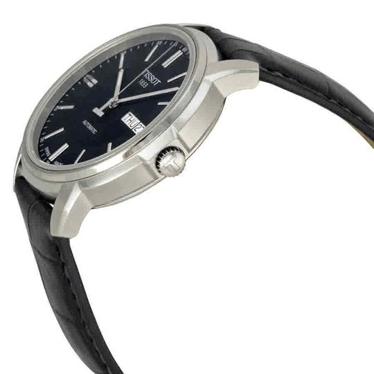Tissot Automatic III Date Dial Men's Leather Watch Image 1