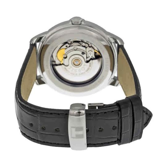 Tissot Automatic III Date Dial Men's Leather Watch Image 2