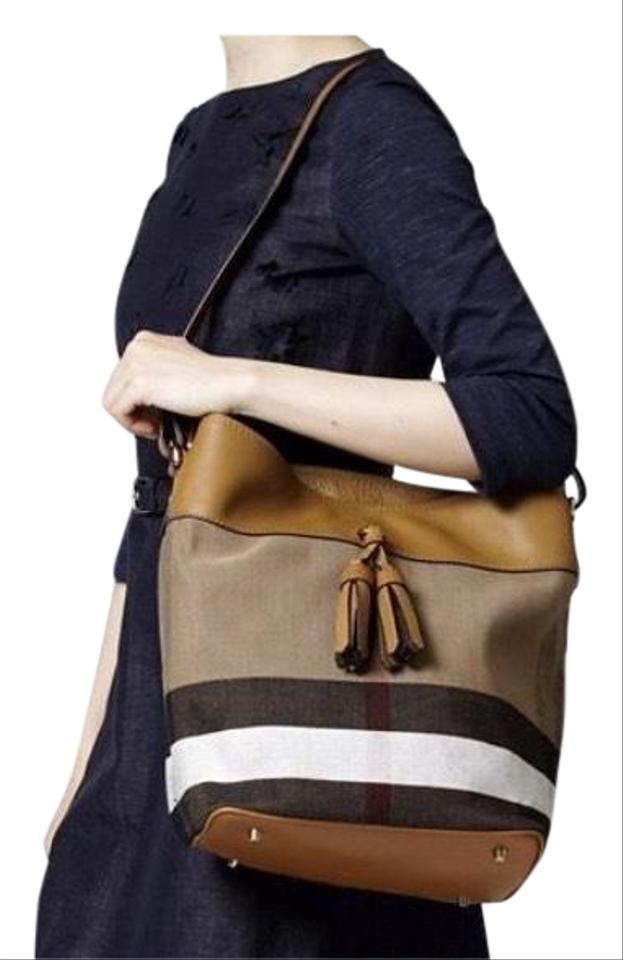 Burberry New Without Tag Ashby Canvas Check Bucket Hobo Bag - Tradesy 26f57224e7aa1