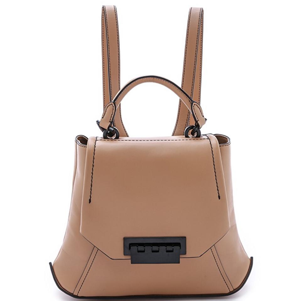 c323949ce9df8 ZAC Zac Posen Eartha Envelope Tan Leather Backpack - Tradesy