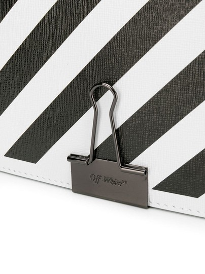 Off-White Diagonal Flap Binder Clip Off-white Diag Cross Body Bag Image 2
