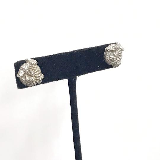 Kieselstein-Cord STYLISH!! Kieselstein-Cord Alligator Solid 18 Karat White Gold Earrings 18 Karat White Gold 8.5 grams Matte Finish Comes with Kieselstein-Cord Pouch!! 100% Authentic Guaranteed!! Image 7