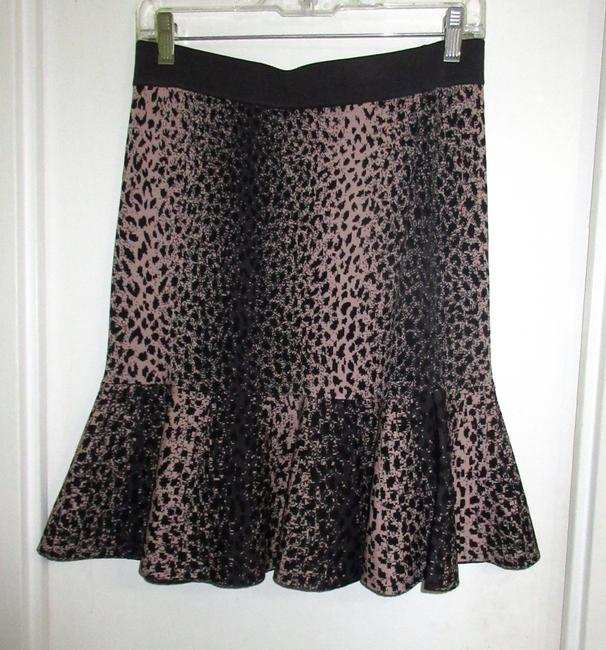 Rebecca Taylor Skirt Brown and Beige Image 1