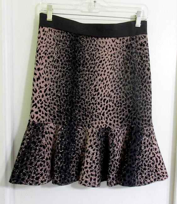 Rebecca Taylor Skirt Brown and Beige Image 5