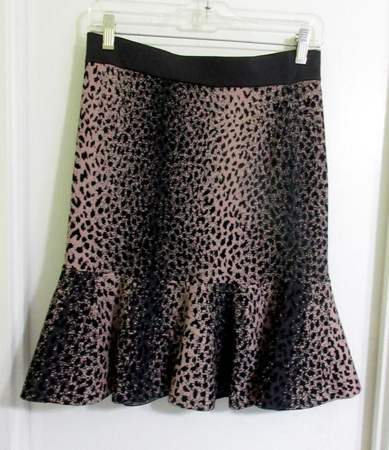 Rebecca Taylor Skirt Brown and Beige Image 6
