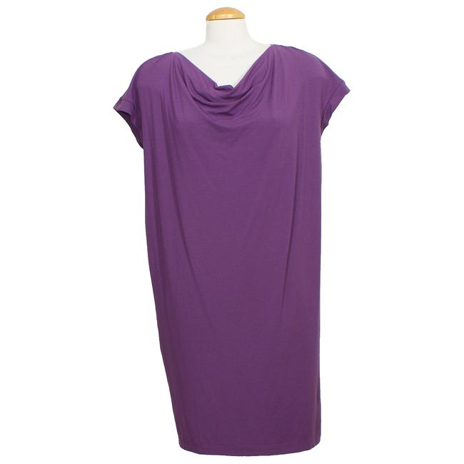 Eileen Fisher short dress African Violet Purple on Tradesy Image 2