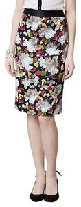 Anthropologie Floral Pencil Girls From Savoy Skirt