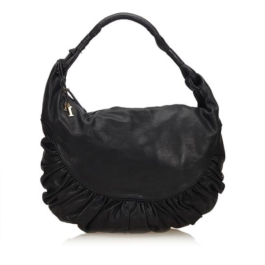 Preload https://img-static.tradesy.com/item/24548120/dior-vintage-gypsy-black-leather-x-others-shoulder-bag-0-0-540-540.jpg