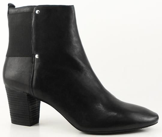 DKNY Ankle Leather Black Boots Image 1