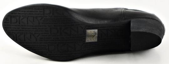 DKNY Ankle Leather Black Boots Image 3