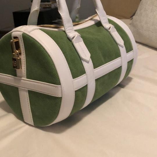 Tory Burch Satchel in Green Image 1