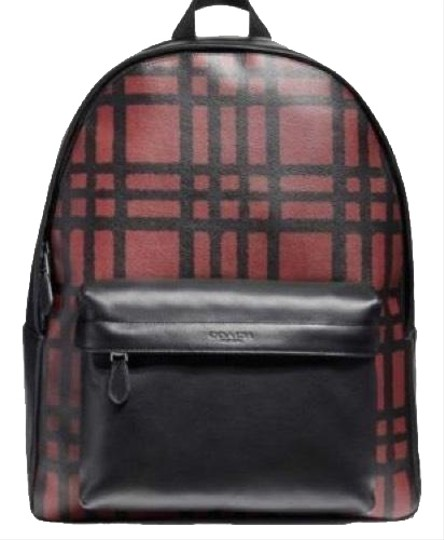 Preload https://img-static.tradesy.com/item/24548228/coach-men-s-charles-wild-plaid-print-f11164-with-multicolor-calfskin-leather-backpack-0-2-540-540.jpg
