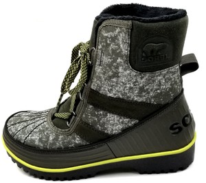 Sorel Green Camo Canvas Boots