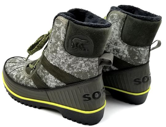 Sorel Green Camo Canvas Boots Image 4