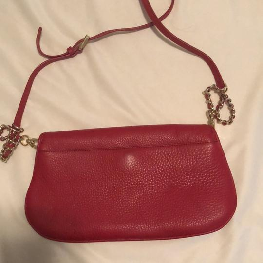 Tory Burch Red Clutch Image 3