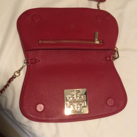 Tory Burch Red Clutch Image 4