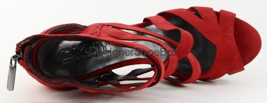 DKNY Red Pumps Image 2
