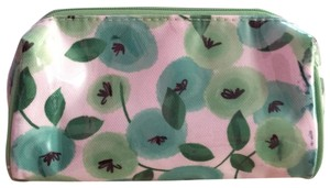 Clinique Clinique green flower cosmetic bag