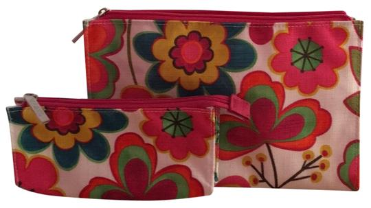 Preload https://img-static.tradesy.com/item/24548508/clinique-multicolor-flower-double-set-cosmetic-bag-0-2-540-540.jpg