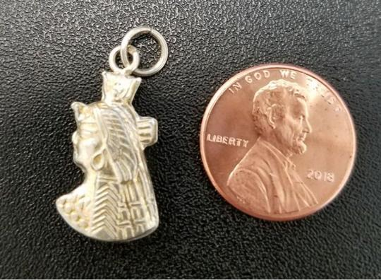 Other Sterling Silver Egyptian XS charm Cleopatra. Bought in Egyptian Bazaar Image 1