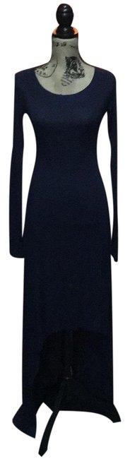 Item - Navy Blue Long Casual Maxi Dress Size 4 (S)