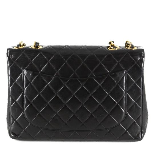 Chanel Quilted Lambskin Leather Classic Gold Hardware Shoulder Bag Image 2