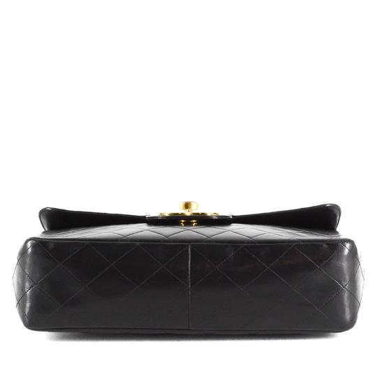 Chanel Quilted Lambskin Leather Classic Gold Hardware Shoulder Bag Image 4