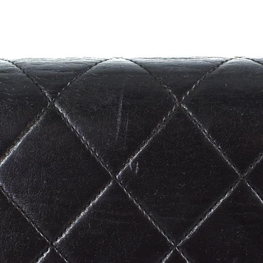 Chanel Quilted Lambskin Leather Classic Gold Hardware Shoulder Bag Image 7