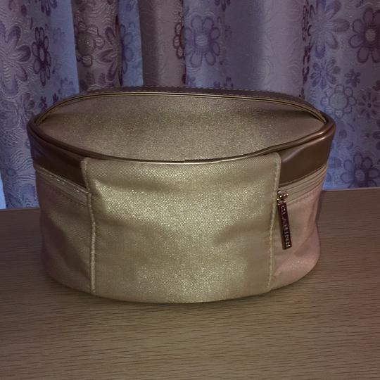 Clarins Clarins gold cosmetic bag Image 1