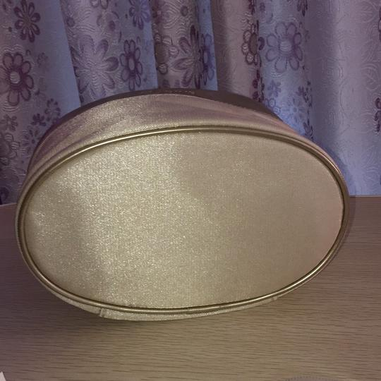 Clarins Clarins gold cosmetic bag Image 2