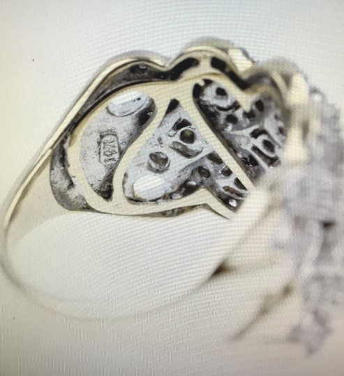 Other Gold Braided Diamond Ring Image 2