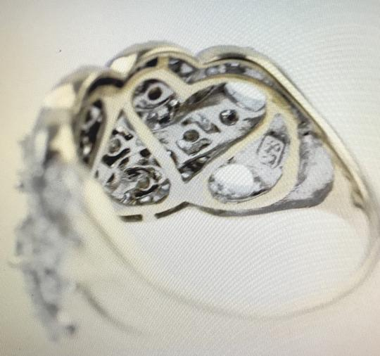 Other Gold Braided Diamond Ring Image 4