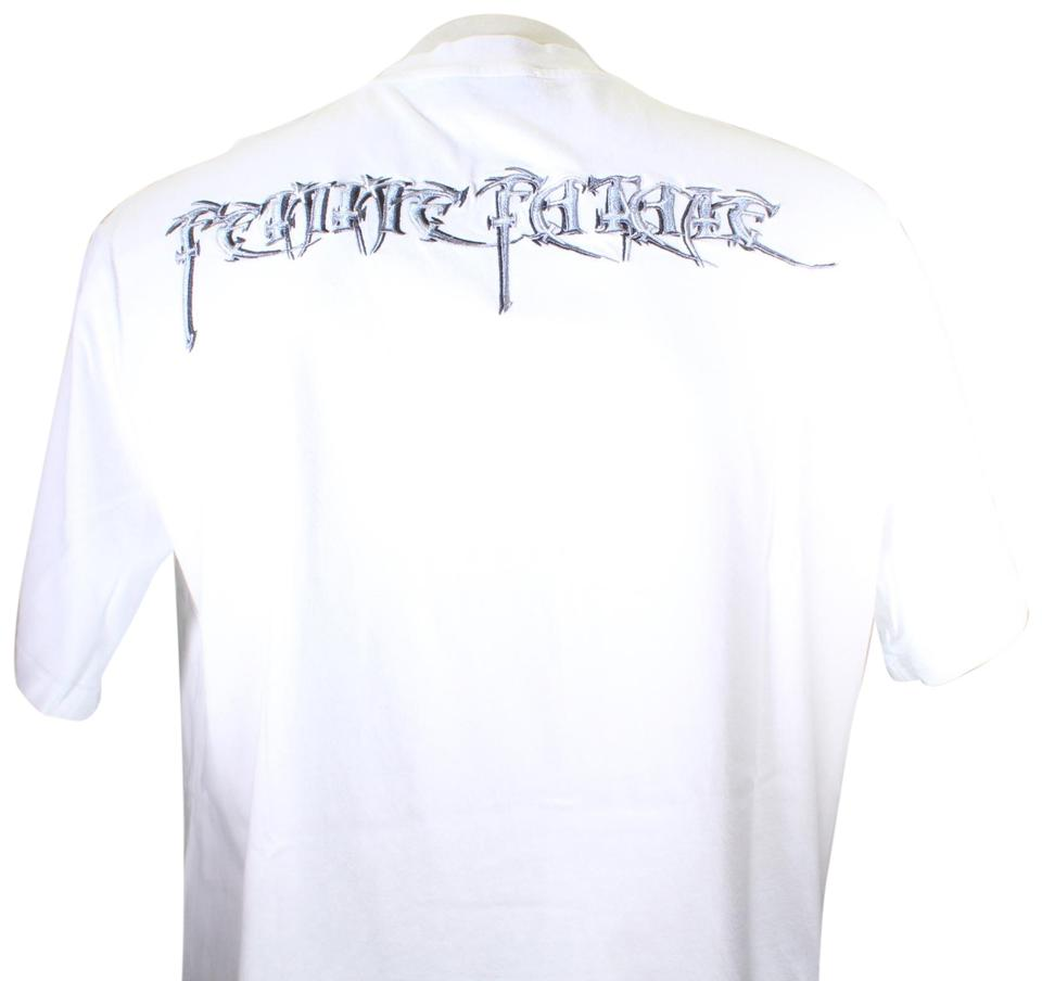 49eb467f573 Balenciaga White Femme Fatale Embroidery Oversize Sold Out Tee Shirt ...